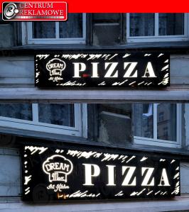 Centrum Reklamowe naklejki LED witraż reklama Poznań Przeźmierowo szyldy kasetony tablice