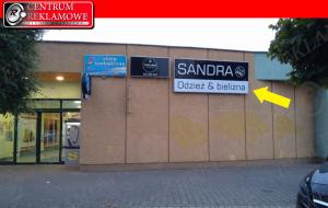Centrum Reklamowe reklama Poznań Przeźmierowo szyldy kasetony tablice