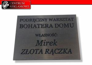 Ciecie laserem grawerowanie tabliczki znamionowe Poznań Przeźmierowo