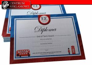 Dyplomy Certyfikaty drukarnia Poznań Przeźmierowo