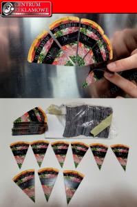 Naklejki magnetyczne magnesy na lodówkę Przeźmierowo Tabliczki metalowe Reklama cięcie laserem