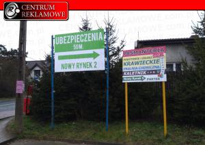 Szyldy Reklamy Kasetony Poznań Przeźmierowo