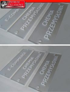 Tabliczki z pleksi Przeźmierowo