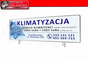 banery folie laminowane naklejki potykacze siatki Przeźmierowo Poznań Tarnowo Podgórne