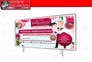 banery laminowane naklejki potykacze siatki Przeźmierowo Poznań Tarnowo Podgórne