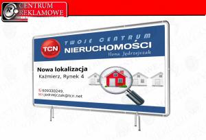 banery naklejki potykacze siatki Przeźmierowo Poznań Tarnowo Podgórne