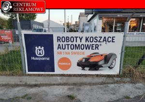banery reklamy tablice szyldy Poznań Tarnowo Podgórne