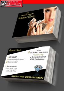 diamond- wizytówki - NEW