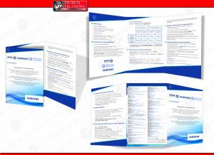 folder reklamowy projekt