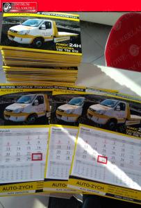 kalendarze 2021  banery reklamy Przeźmierowo Tarnowo Podgórne