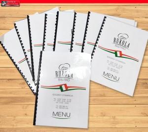 karty menu restauracja foldery Przeźmierowo Tarnowo Podgórne Kikrz