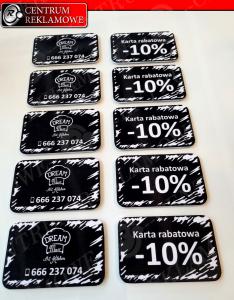 karty plastikowe, karty rabatowe Przeźmierowo Centrum Reklamowe