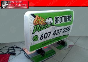 kaseton reklama na samochód magnes Tarnowo Podgórne Poznań
