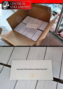 koperty z nadrukiem, ulotki, recepty,  listy, katalogi, zaproszenia Poznań Przeźmierowo Centrum Reklamowe