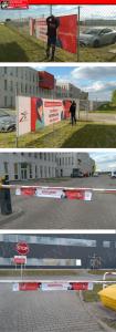 montaż banerów Poznań Przeźmierowo Kikrz Rokietnica Tarnowo Podgórne
