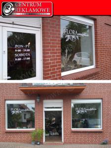 naklejki na oknach sklepach samochodach Przeźmierowo Poznań