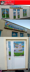 naklejki na oknach sklepach samochodach Przeźmierowo Tarnowo Podgórne Poznań