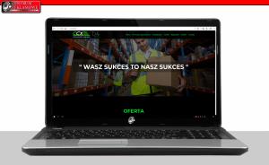 nowoczesne strony internetowe przeźmierowo Pasaż Centrum