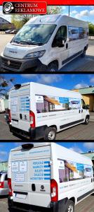 oklejanie aut, reklama na samochodzie Centrum Reklamowe