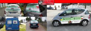 oklejanie samochodów aut Poznań Przeźmierowo
