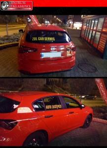 oklejanie samochodów centrum reklamowe Przeźmierowo