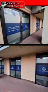 oklejanie sklepów, reklama na oknach, naklejki dla firm, folia szroniona