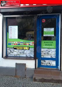 oklejanie sklepów AUT Centrum Reklamowe Kiekrz Poznań