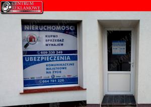 oklejanie witryn sklepowych Przeźmierowo Tarnowo Podgórne