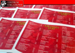 podkłady pod tacę, zaproszenia, drukarnia, certyfikaty, papier firmowy, bony podarunkowe, powiadomenia, bindowanie