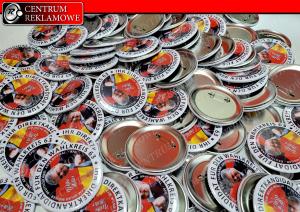 przypiski, butony, buttony Poznań Przeźmieorwo Centrum Reklamowe