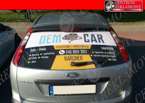 rekalma na aucie oklejanie samochodów
