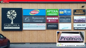 reklama świecąca Poznań Przeźmieorwo Kiekrz