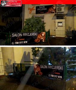reklama Poznań Przeźmierowo szyldy kasetony tablice