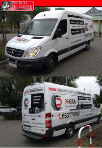 reklama na aucie samochodzie naklejki Przeźmierowo Poznań