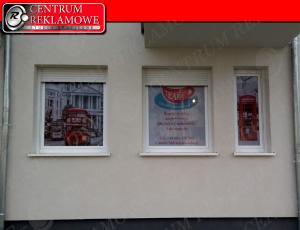 reklama na oknach Poznań Przeźmierowo