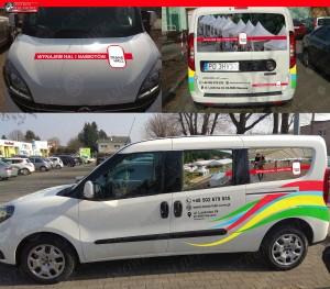 reklama na samochodzie Poznań