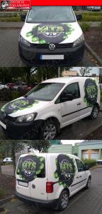 reklama na samochodzie okelejanie aut Poznań Przeźmierowo Tarnowo Podgórne