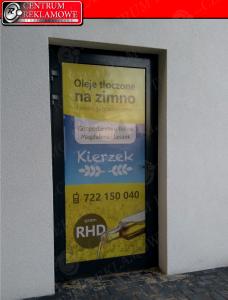 reklama na szybie Poznań naklejki Przeźmierowo