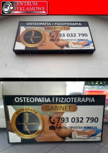 reklama zewnętrzna kasetony szyldy Przeźmierowo Rokietnica Kiekrz Poznań