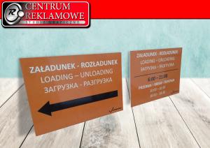 szyldy tablice płyty Przeźmierowo Poznan Tarnowo Podgórne