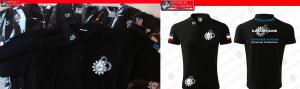 t-shirt z nadrukiem z logo z haftem Przeźmierowo HAFT