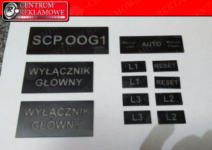 tabliczka z grawerem Przeźmierowo Lusowo Zakrzewo