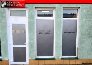 wyklejanie okien, reklama na oknach Poznań przeźmierowo